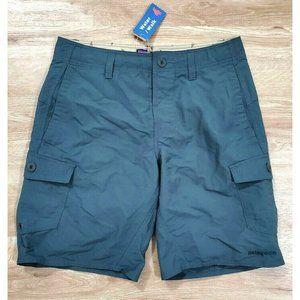 Patagonia mens Wavefarer Creen Cargo Shorts 31 NWT